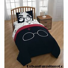 Super Soft and Comfortable Harry Potter Always 4 Piece Twin Bed In A Bag Bedding