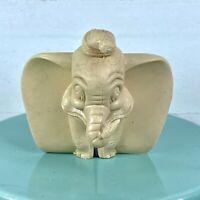 Vintage Marx Disney Dumbo Cream Figure 1950s Plastic 012