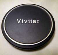 Vivitar 52mm Lens Front Cap Slip on type Metal Free Shipping USA