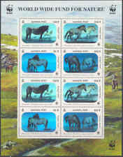 WWF MONGOLIA 2000 CAVALLI MINIFOGLIO