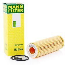 2 Pack Engine Oil Filter Mercedes-Benz OE# 2711800009 / 2711800109 MANN HU 514 X