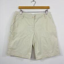 RM Williams Stockyard Womens Long Shorts Work Beige Outdoor Size 12