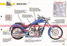 HONDA VTX 1300 C 2009 Joe Bar Team Fiche Moto #003720
