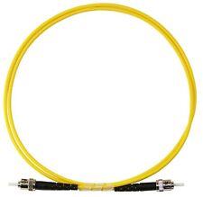 20m ST-ST Simplex 9/125um Single Mode Patch Cable, UPC Polish
