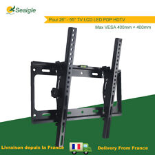Support Mural TV Inclinable LCD LED PDP écran Plat Plasma 26-55'' VESA 400×400mm