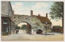 Lincolnshire postcard - Newport Arch, Lincoln (A268)