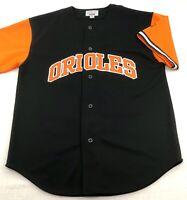 Baltimore Orioles MLB Starter Jersey Button Front Stitched Mens M Medium Vintage