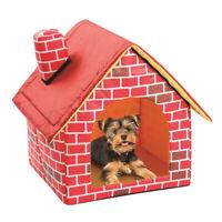 Haustier Hundehaus Hund Katze Bed Hundehöhle Kennel Soft Bett Höhle Bett Nest