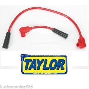 Set cavi candele Taylor ROSSI 8 mm x Harley Davidson Dyna 99-17, Softail 00-17