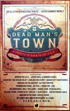 Bruce Springsteen Dead Man's Town A Tribute To Born Usa 2014 Ltd Ed Rare Poster