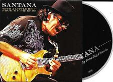 CD CARDSLEEVE COLLECTOR 8 TITRES SANTANA WITH A LITTLE HELP FROM MY FRIENDS