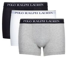 Ralph Lauren Men's Short Pack of 3 Trunks Large 2 X White 1 Grey