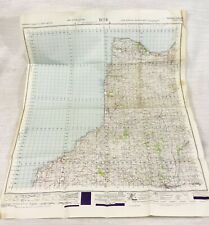 1947 Vintage Military Map of Dude Hartland Holsworthy Cornwall MOD Issue