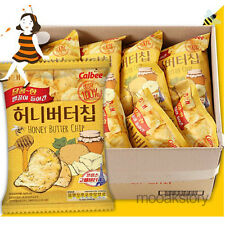 [HAITAI] Honey Butter Chip Sweet Potato Savory Korean Food Snack 60 g × 8 ea