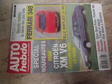 $$t Revue Auto Hebdo N°677 Ferrari 348  Dijon Porsche Mercedes  Rick Mears