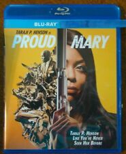 """Proud Mary """" Blu-Ray Movie Disc, Blu-ray Case and Artwork"""