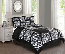 New Empire Home Black Safari Damask 4-Piece Comforter Set Bed In A Bag Sale!