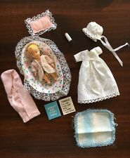 VHTF Vintage 1965 Barbie Babysits 2nd Edition #0953 Formula Manual Baby Bottle