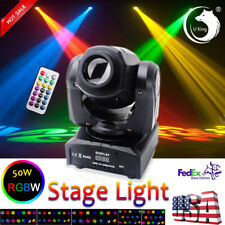 U`king 50W Stage Lighting Led Dmx Remote Moving Head Dj Disco Party Shows Light