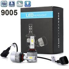 Cree LED Headlight 9005 HB3 6000K High Beam or Fog DRL Bulb White PAIR