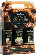 Jordans Skinny Syrup Caramel Collection Gourmet Coffee Syrup Trio - 375ml