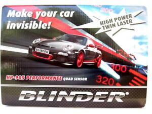 2021 BLINDER HP-905 LATEST PERFORMANCE QUAD SENSOR RADAR LASER DETECTOR HP905