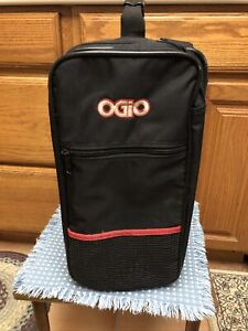 OGiO The Original Locker Bag Black with Red trim.