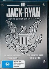 Jack Ryan Special Edition DVD NEW Patriot Games Clear And Present Danger