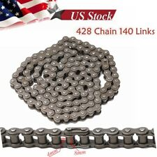 428 140 Links Drive Chain + Joiner Link 125cc 140cc PIT Pro Dirt Bike Motorcycle