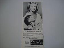 advertising Pubblicità 1961 CREME DR. PAYOT