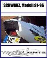 LED Heckleuchte Rücklicht schwarz Honda CBR 600 PC25 PC31 F2 F3 CBR600
