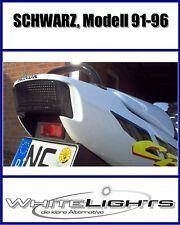 LED Luz De La Cola Luz trasera NEGRO HONDA CBR 600 PC25 PC31 F2 F3 CBR600