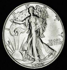 1939-s Liberty Walking Half.  AU  (INV.A)