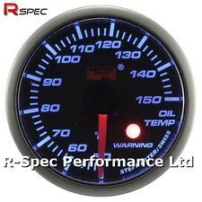 52mm motor paso a paso azul Aceite de advertencia Temperatura Temp Manómetro con luz de advertencia