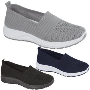 Women Running Sock Trainers Ladies Lightweight Walking Sneakers Comfy Shoes Size