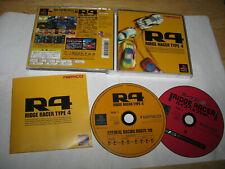Ridge Racer Type 4 Playstation PS1 Japan import US Seller