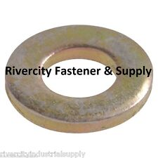 (100) 1/4 INCH GRADE 8 USS FLAT WASHERS 100 PIECES