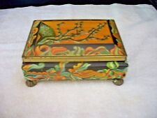 Vintage Fricke & Nacke Oriental Banyan Tree Candy Tin West Germany