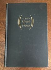 First Edition World's Great Plays 1944 George Jean Nathan Hardcover