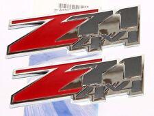 Z71 4X4 Chevrolet GMC 3D Emblem Door Vehicle Trucks Suburban Tahoe ( 2 piece )