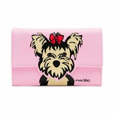Marc Tetro Snap Wallet Yorkie Pink
