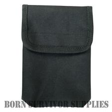 VIPER NOTEBOOK POUCH - Black Security Police PCSO Waterproof Notepad Belt Holder