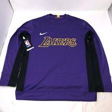 NWT Los Angeles Lakers Nike Long Sleeve Shooting Shirt Boys Youth Size Medium