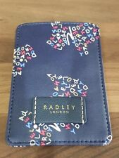 Radley Scotty Dog RARE  Leather Travel Railcard ID OYSTER CARD Credit holder