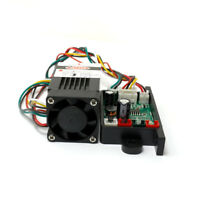 High Power 532nm 80mw-100mw Green Laser Stage Laser Module 12V DC With TTL