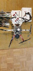 DJI Flame Wheel F550 Drohne mit umfassenden Zubehör