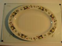 "Royal Doulton Miramont Oval Serving Platter 13 1/4"" TC1022 Fine China VG"