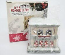 It's A Wonderful Life Gower Drugs Porcelain Light Up Ornament Series 1 Enesco