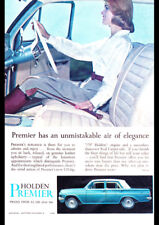 """1964 EH HOLDEN PREMIER AD A1 CANVAS PRINT POSTER FRAMED 33.1""""x23.4"""""""