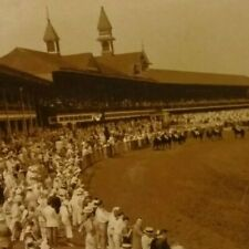 Vintage Horse Racing Photo ,Latonia Race Track - Kentucky, by H.G. Ashby;